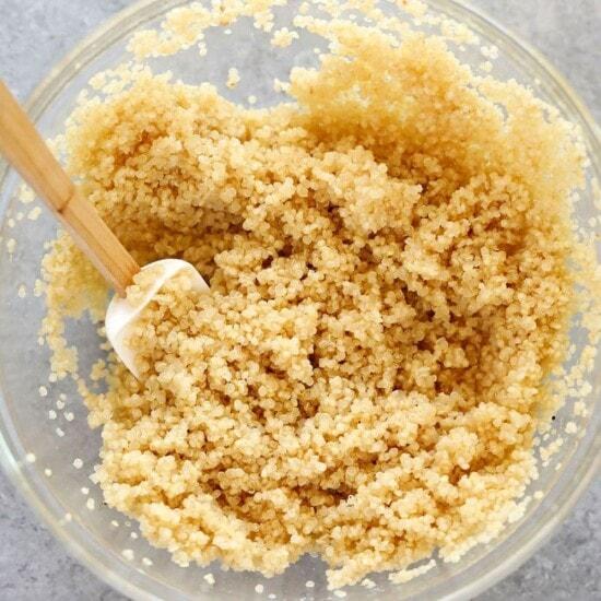 microwave quinoa