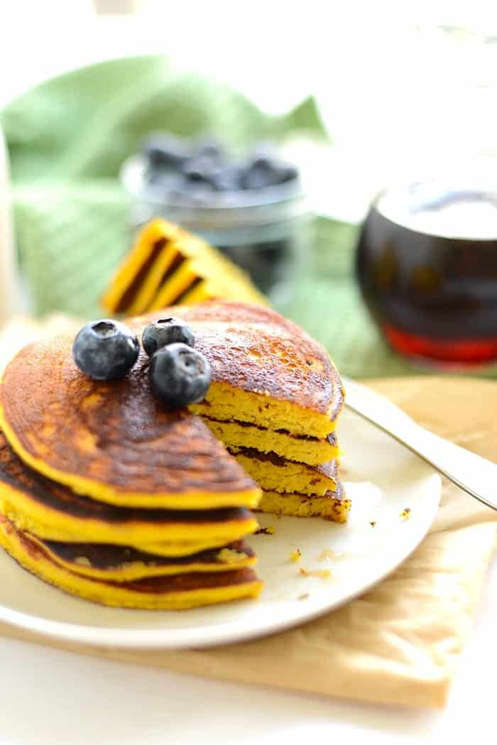 Paleo Pancakes {Made With Coconut Flour}