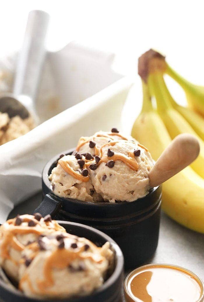 peanut butter banana soft serve