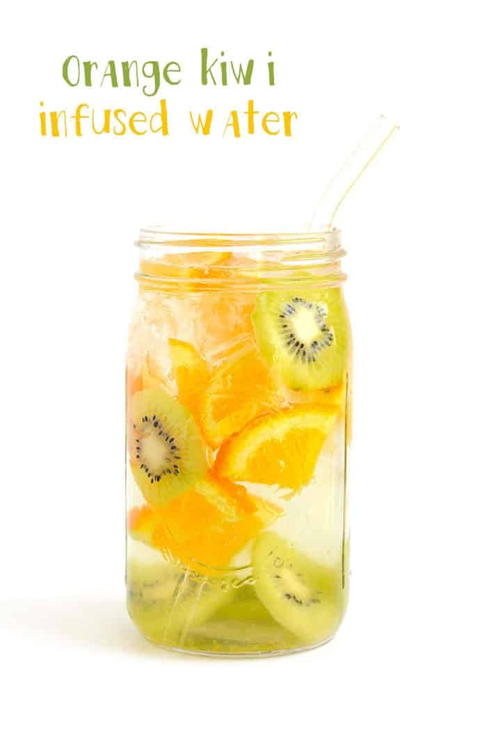 Orange Kiwi Infused Water