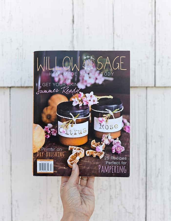 Willow and Sage Publication