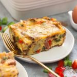 chicken fajita breakfast casserole