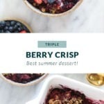 berry crisp pin