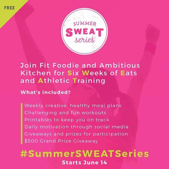 Summer SWEAT Series: Meet the Trainers + Let's Eat!
