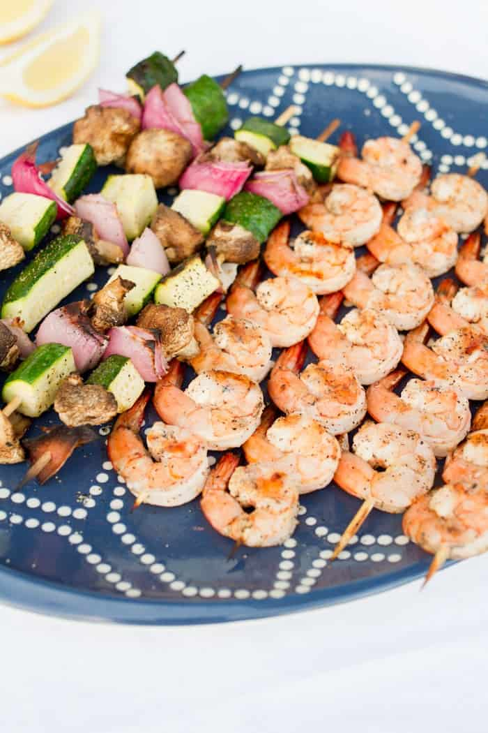 Grilled Shrimp Skewers 4 Of
