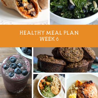 Summer SWEAT Series: Week 6 Nutrition Plan