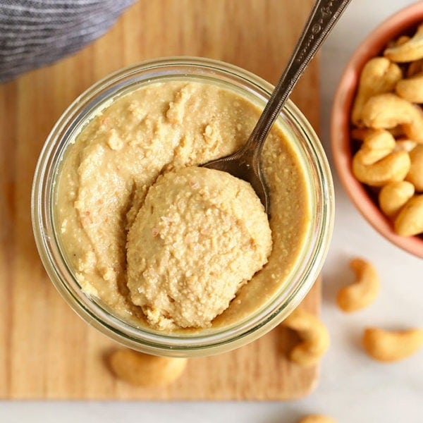 homemade cashew butter