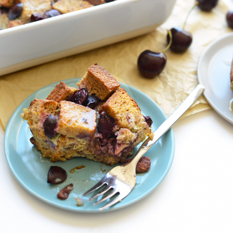 Cherry French Toast Bake