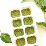 Have an overload of basil in the garden? Make these creamy parmesan pesto cubes so that you can have a delicious, flavorful sauce or marinade later in the year!