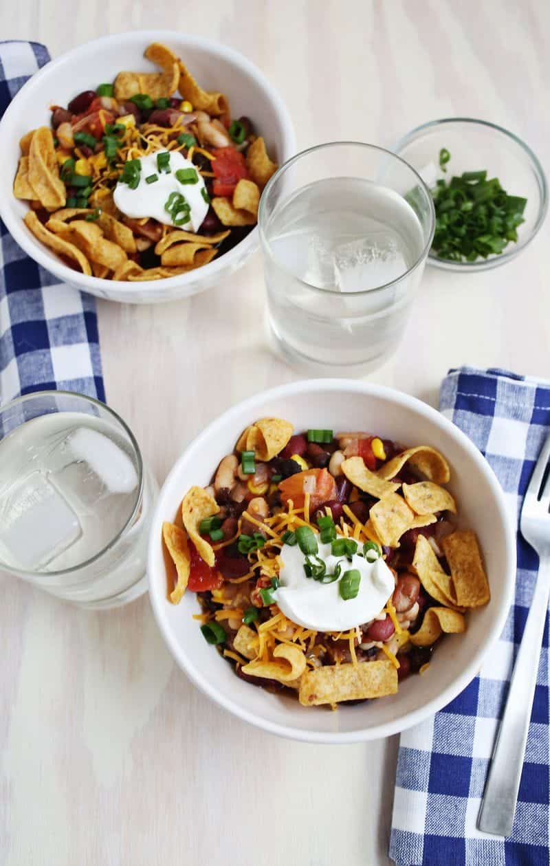 Get ready for fall with one of these quick and healthy chili recipes!
