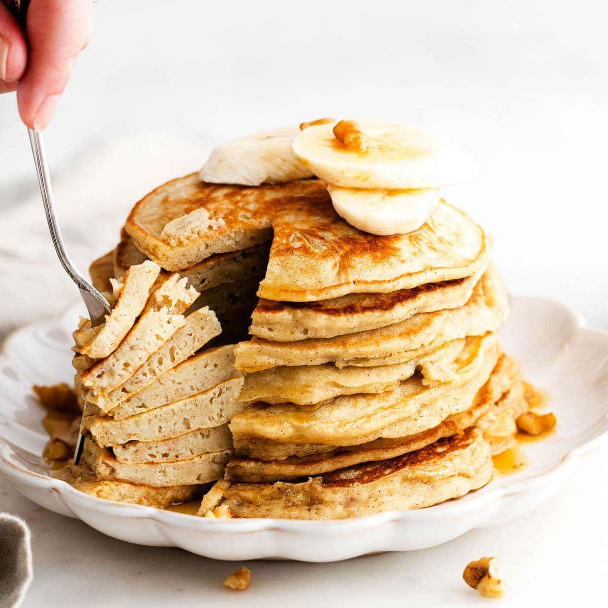 Best Banana Pancakes (Healthy Banana Pancakes) – Fit Foodie Finds