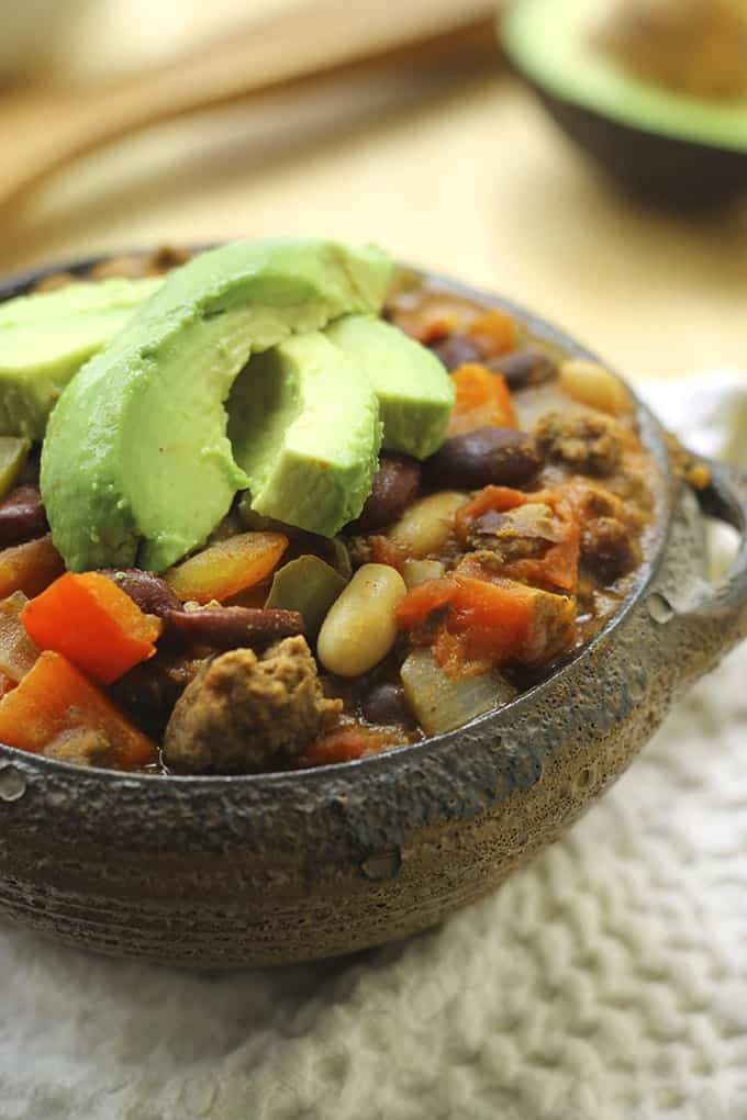 Get ready for fall with one of these quick and easy healthy chili recipes that will fill you up and leave you with leftovers for days!