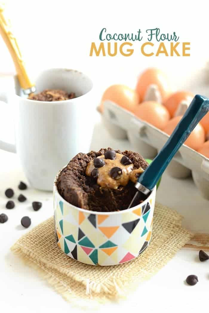 Coconut Flour Chocolate Mug Cake Fit Foodie Finds