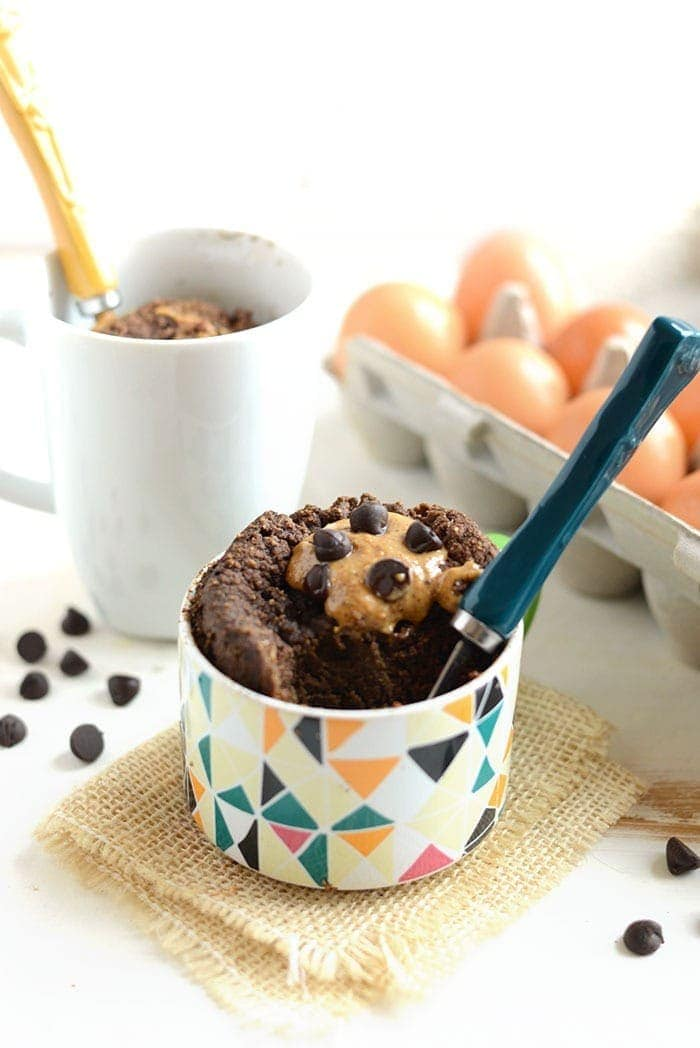 Coconut Flour Chocolate Mug Cake Fit Foodie Finds