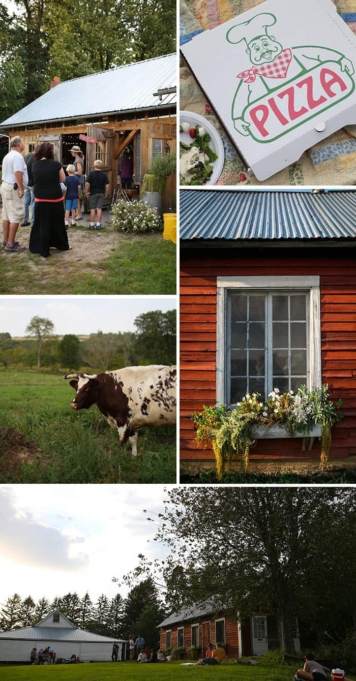 Do you live in the Twin Cities? You must check out The Pizza Farm in Stockholm, WI for a fun day trip filled with farm to table pizza!