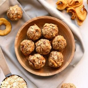 apple chai energy balls