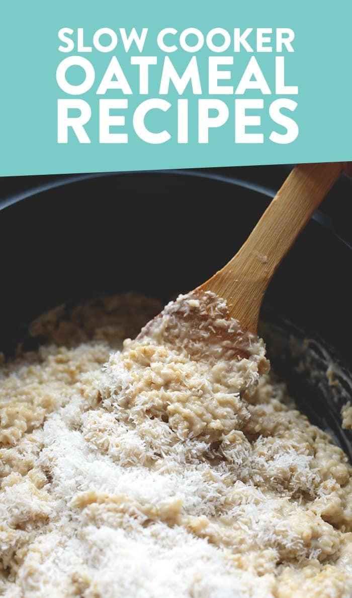 slow cooker oatmeal recipes