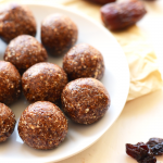 All you need are 5 whole ingredients to make these delicious Cherry Pie Energy Balls. They're the perfect snack and they taste just like cherry pie!