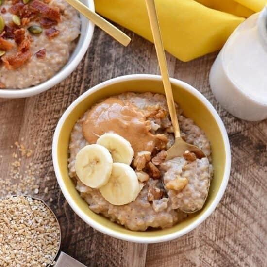 Crockpot Maple Cinnamon Oats