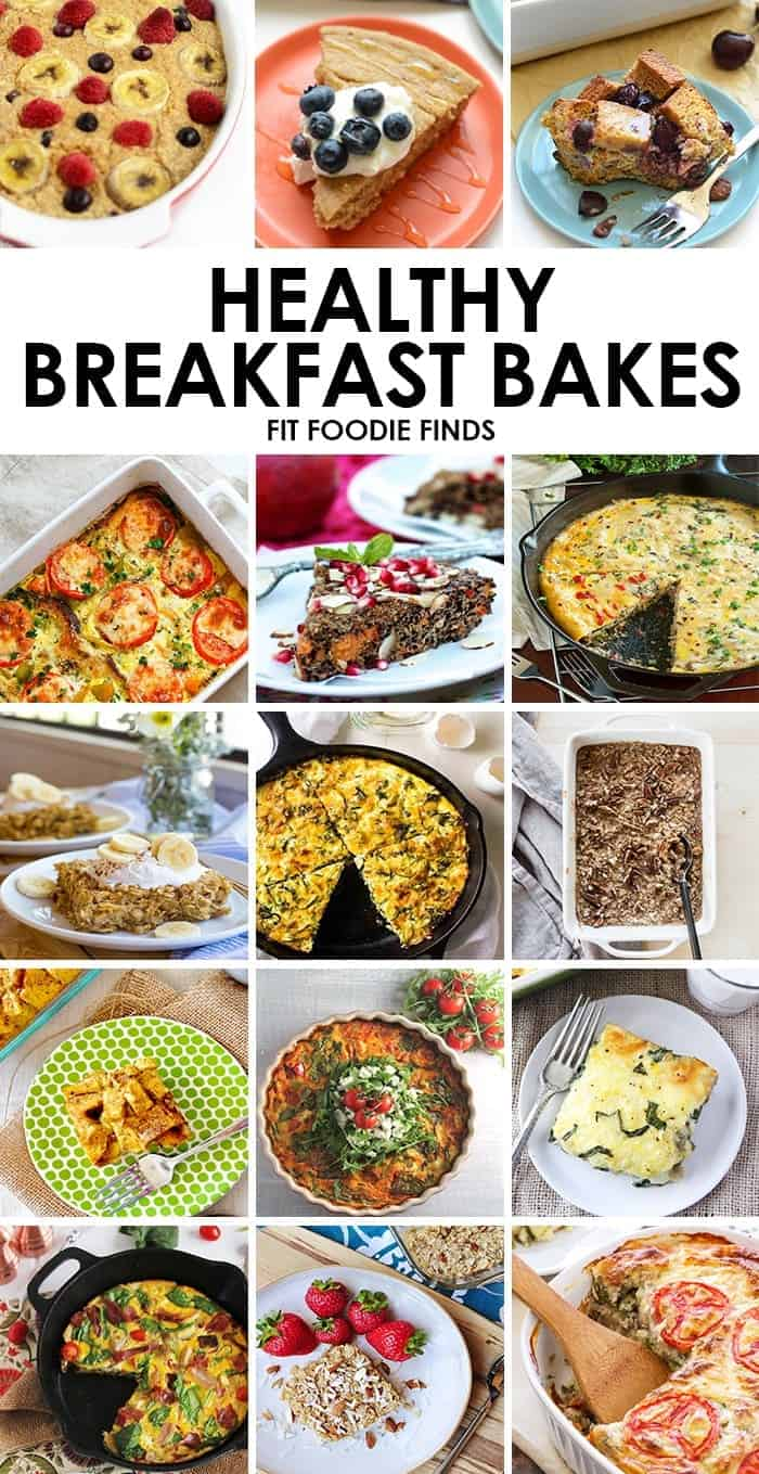 Needing to feed the masses? Make one of these delicious and healthy breakfast bakes. They're perfect for the cabin, holidays, or brunch!