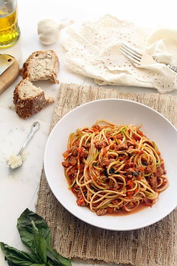 Turkey-Bolognese-Zucchini-Pasta-by-The-Lemon-Bowl