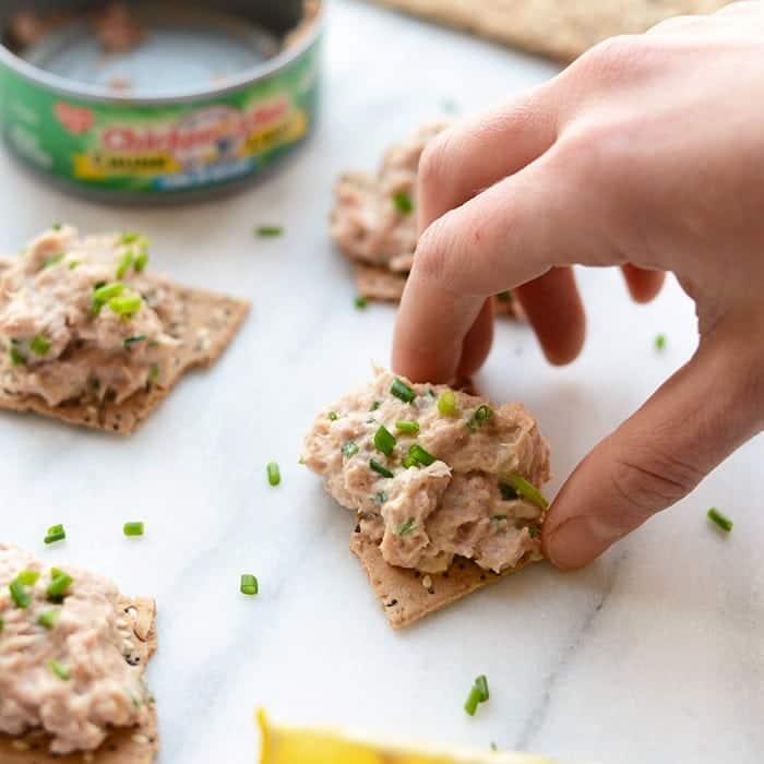Prepared healthy Tuna Salad Recipe