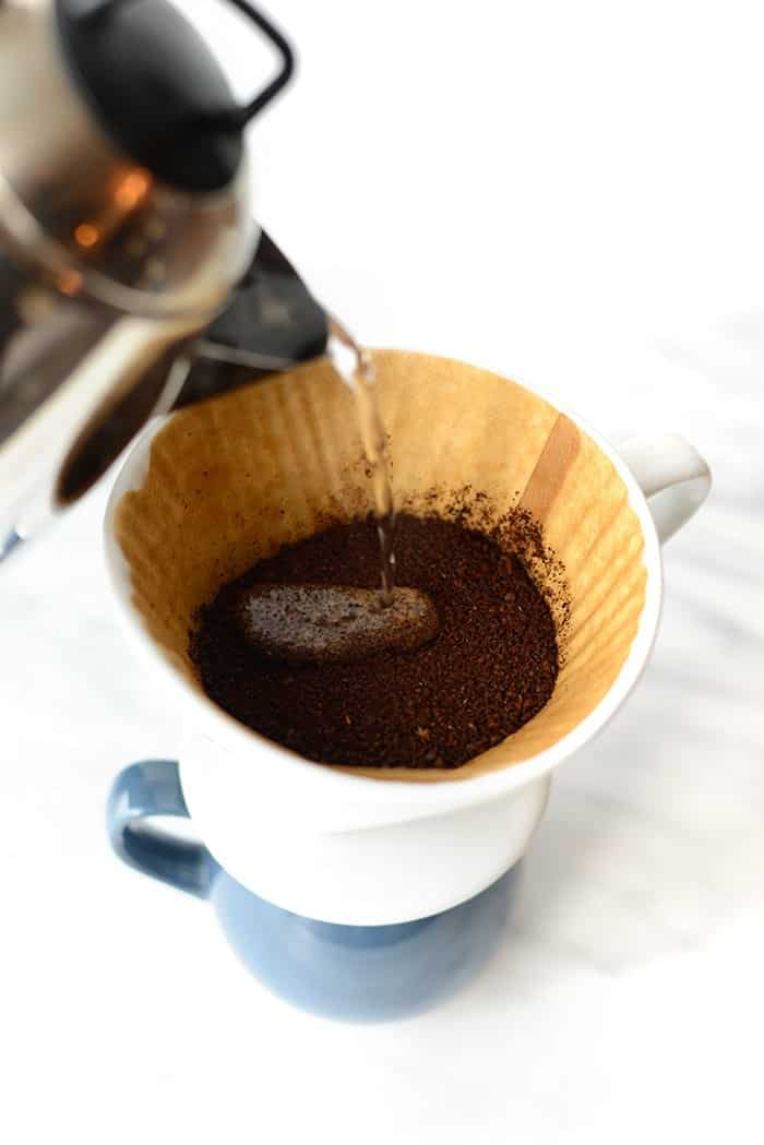 Are you a coffee addict like me? Follow my tutorial on how to make the PERFECT cup of coffee using a pour over, freshly ground beans, and filtered water!