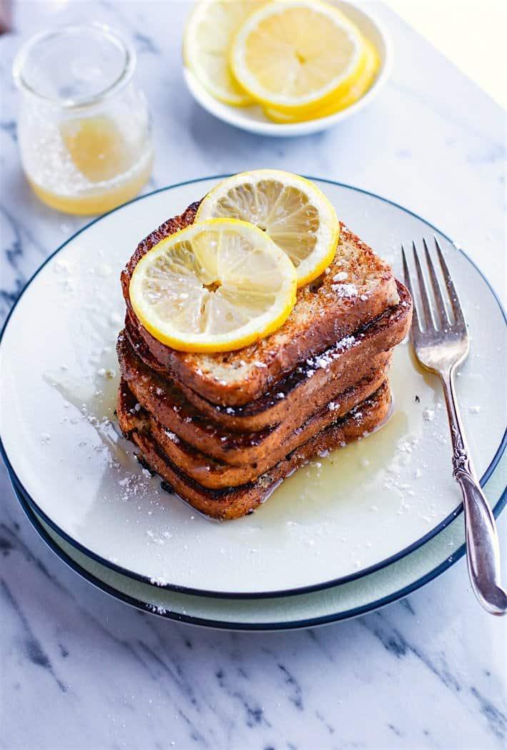 Honey Lemon Vanilla French Toast