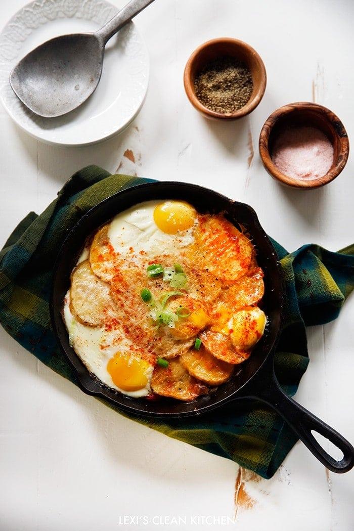 Potato Leek Skillet