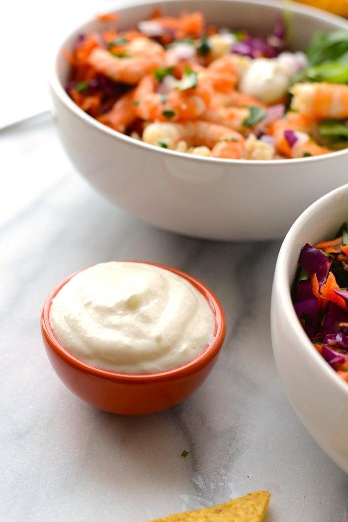 Greek yogurt sauce