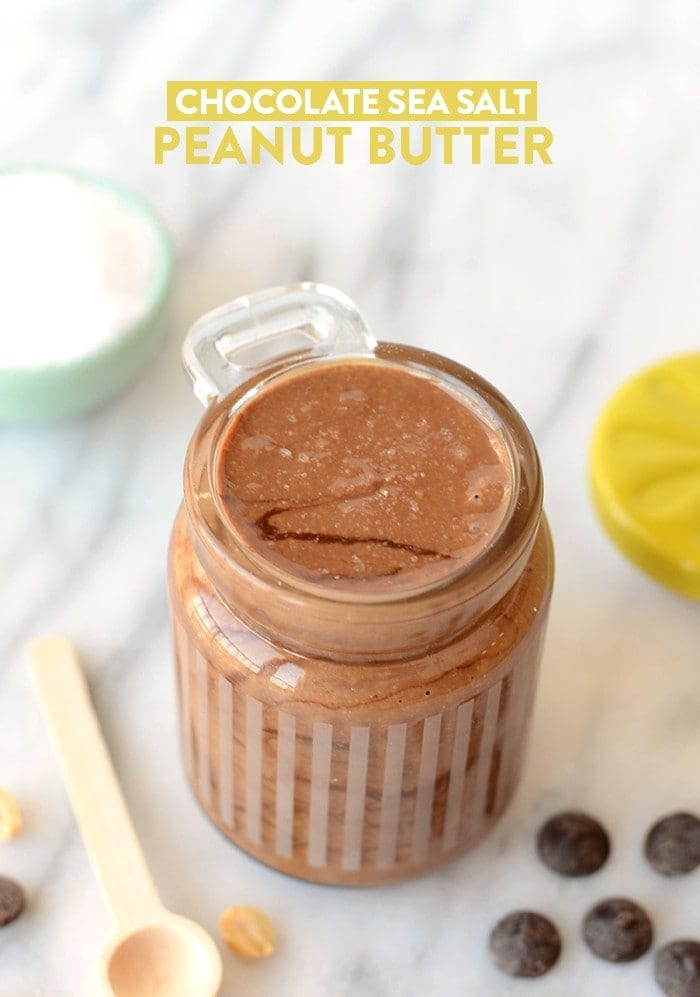 How to Make: Chocolate Sea Salt Peanut Butter