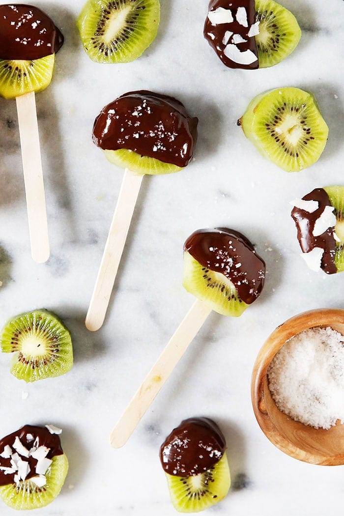 Easy Kiwi Pops from Lexi's Clean Kitchen