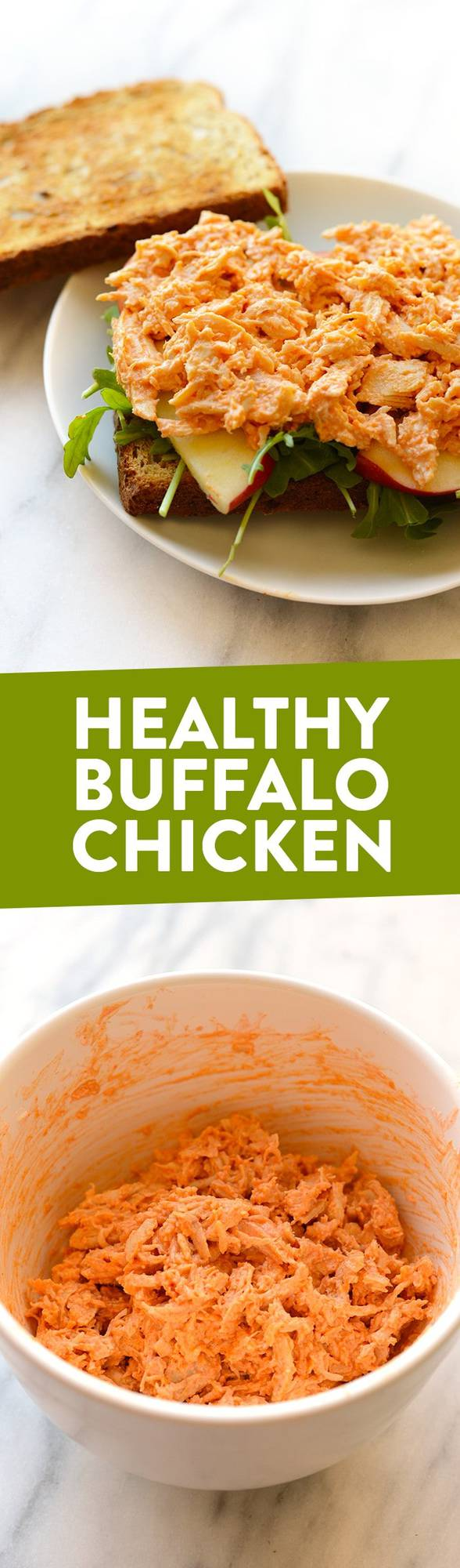 Healthy Buffalo Chicken