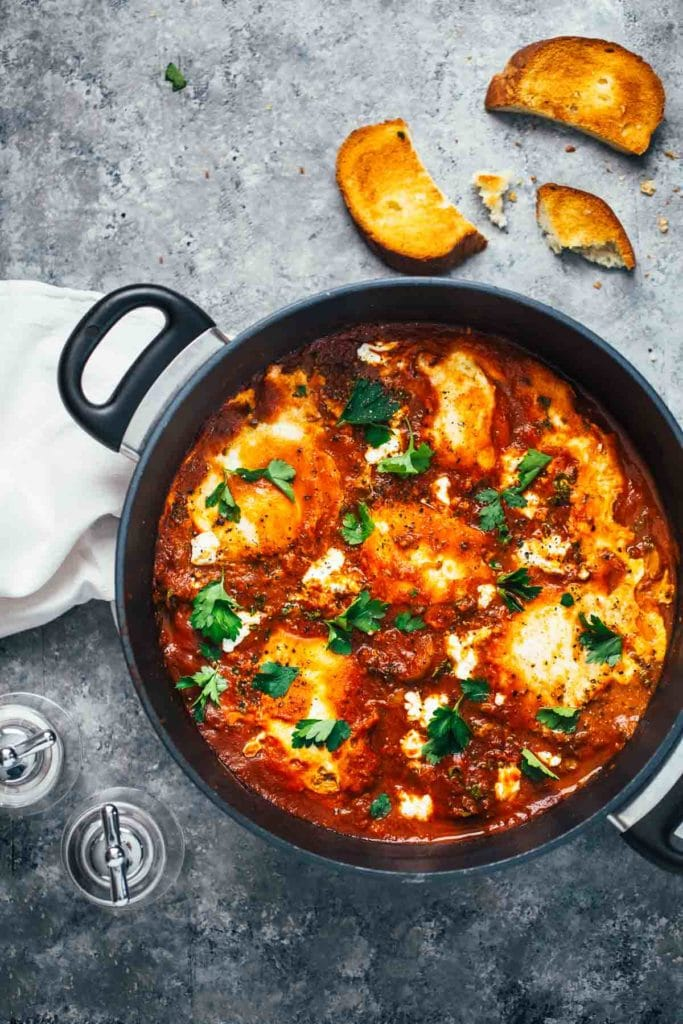 One-Pot-Spicy-Eggs-and-Potatoes-with-Goat-Cheese-1