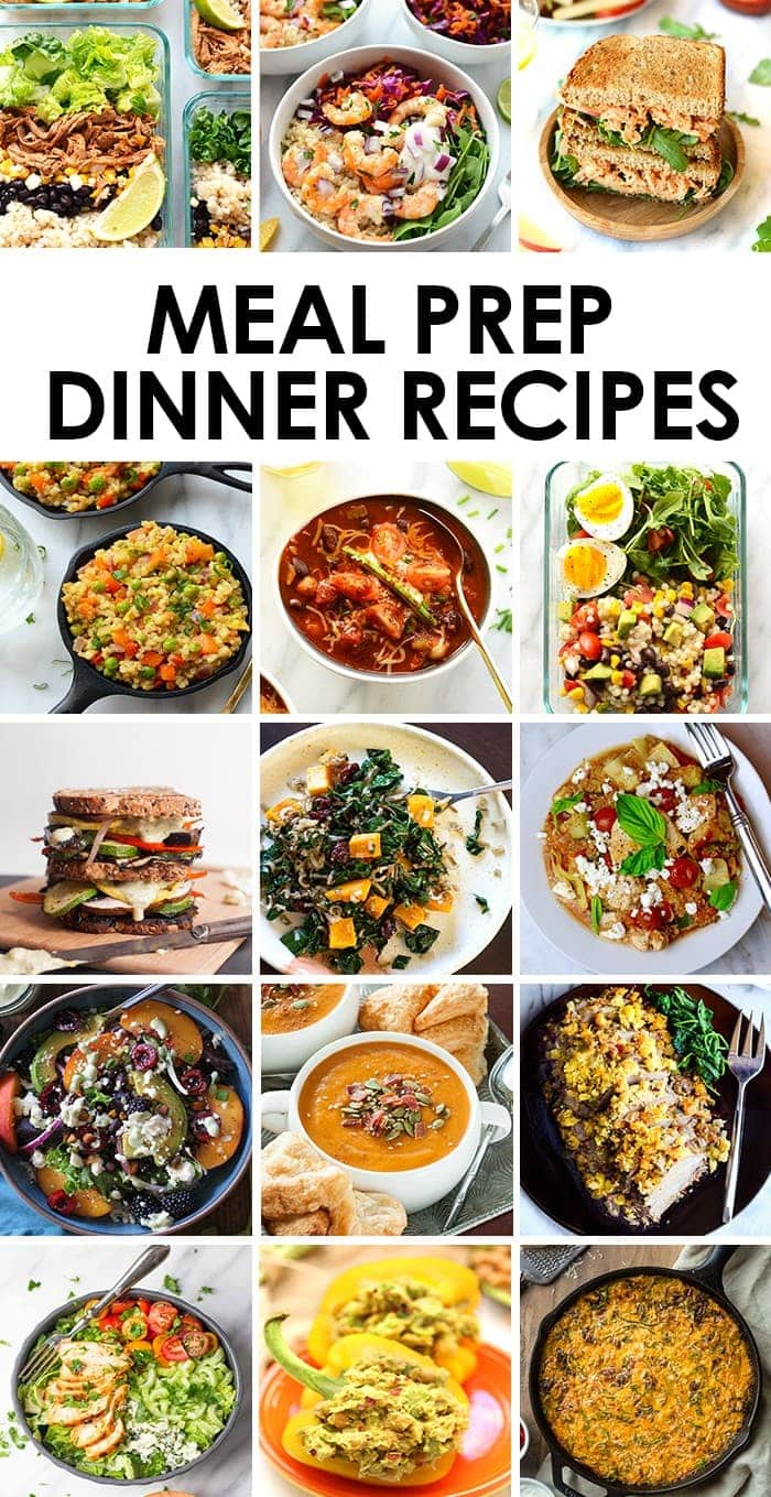 Meal Prep Dinner Recipes