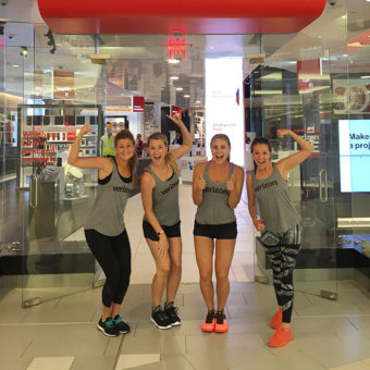 Staying Connected Abroad with Verizon + MotoZ Yoga Sculpt Event Recap