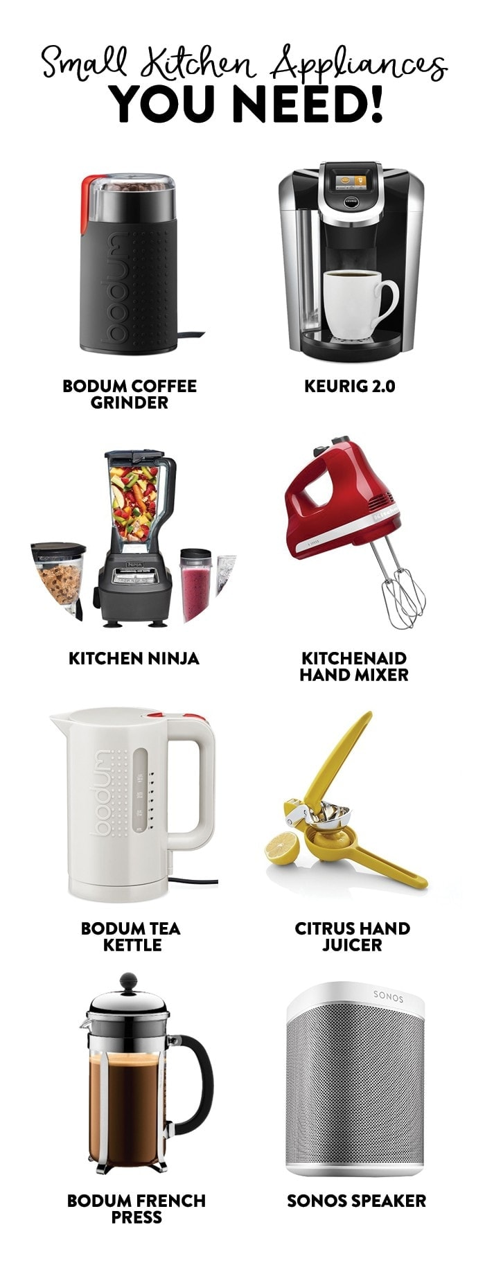 Small Kitchen Appliances You Need Fit Foodie Finds