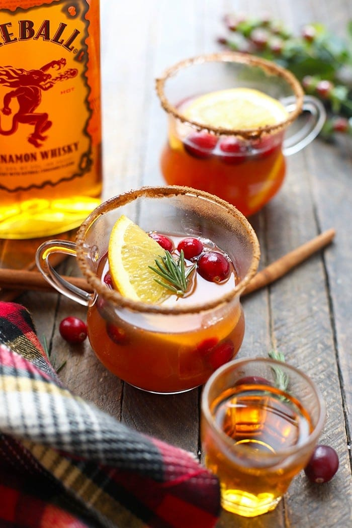 A cup of hot toddy