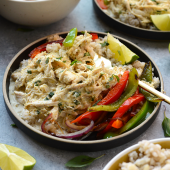 VIDEO: Slow Cooker Coconut Curry Chicken