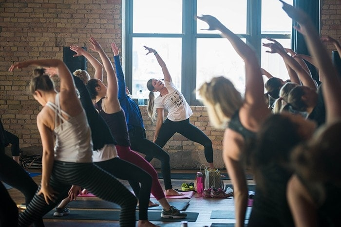 The second annual Fit For HER Minneapolis is happening on February 18th and you're invited! Check out this 30 Minute Legs and Shoulders HIIT Workout inspired by the Her Initiative.