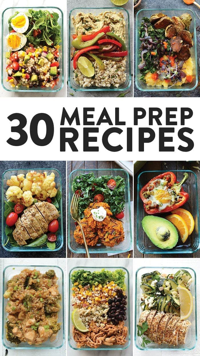 30 Meal Prep Recipes