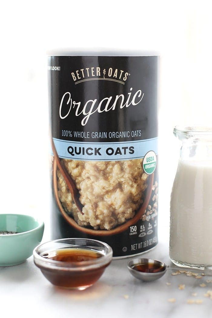 Have your dessert and breakfast too with this out-of-this-world Chocolate Chip Cookie Dough Oatmeal! It's vegan and the perfect nutrition-packed way to start your day.