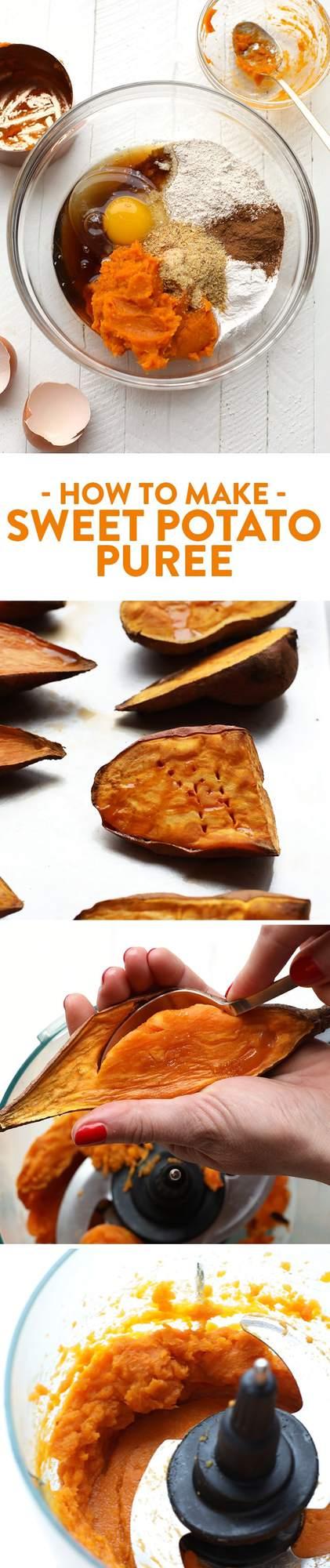 Homemade Sweet Potato Puree