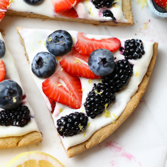 How to Make a Healthy Fruit Pizza
