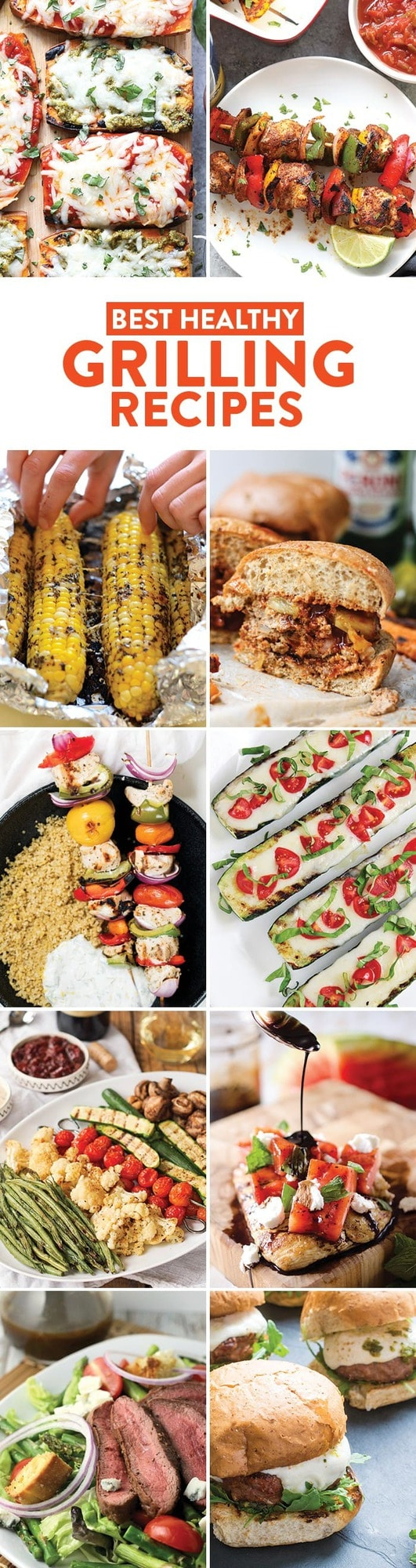Easy on the Grill Recipes that are Healthy and Delicious! Add any of these easy on the grill recipes to your menu this summer and you won't regret it! There is nothing like spending time outside cooking healthy food on the bbq.