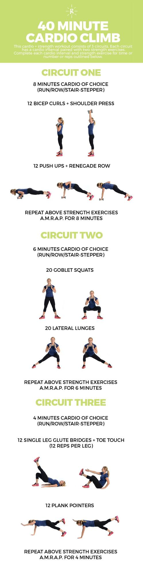 Boost your mood andyour cardiovascular strength with these at-home cardio workouts. They are challenging, fun and they call for minimal equipment.