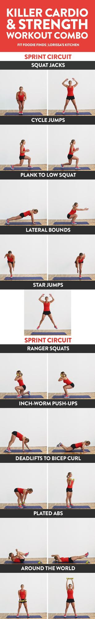 Boost your mood and your cardiovascular strength with these at-home cardio workouts. They are challenging, fun and they call for minimal equipment.