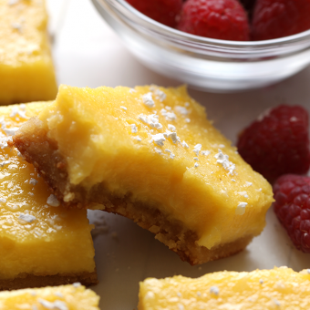 Video: Healthy Gluten Free Lemon Bars