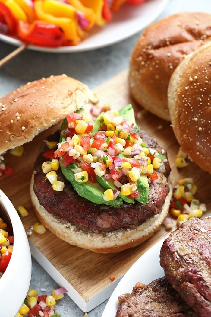 Juicy Lucy with Pico on top