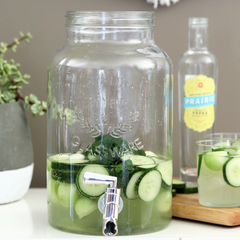 Cucumber Melon Ginger Punch (Large Batch)